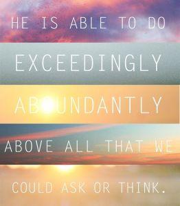 exceeding-abundantly